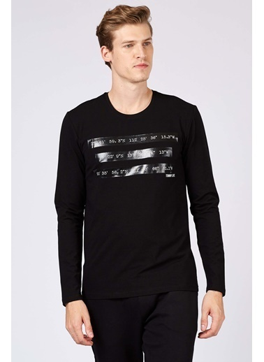 Tommy Life Sweatshirt Siyah